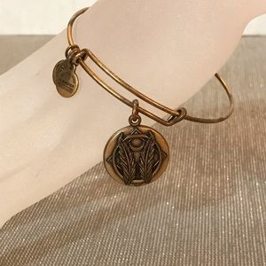 """Gold Alex and Ani """"grace, journey, blessing"""""""